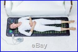 HealthyLine Jade Tourmaline Stones Mat Ions Far InfraRed Heat Pad 72x24 Light