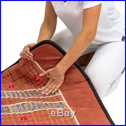 HealthyLine PEMF Queen Mat Natural Amethyst FAR Infrared Negative Ions Photons