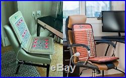 HealthyLine TAJ TAO Seat Natural Amethyst Heating Mat with PEMF Photon Lights