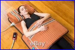 HealthyLine TAO 32''x20'' Mat Tourmaline Amethyst Heating Pad with PEMF FIR