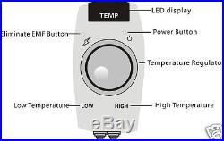 HealthyLine Tourmaline Negative Ions FIR InfraRed Heating Multi Energy Belt Mat