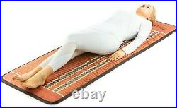 Infrared Heating Pad PEMF Bio Amethyst Full Body Therapy Mat HealthyLine 72x24