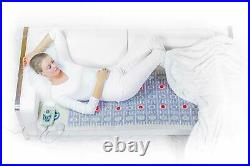 Infrared Heating Pad PEMF Bio Therapy Mat with Amethyst HealthyLine 72 x 24
