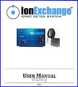 IonExchange Foot Bath Ion Ionic Foot Detox Spa Machine