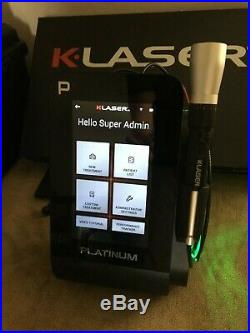 K-Laser Platinum 4 Therapy Laser- Vet Class 4