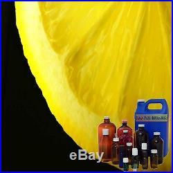 Lemon Essential Oil Pure Uncut Premium Grade Aroma Sizes from 3ml to 1 Gallon