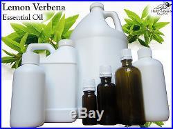 Lemon Verbena Essential Oil. 9 Sizes. 10ml Gallon. Free Shipping