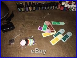 Lot 27 New & Barely Used Doterra Young Living Essential Oils Diffuser Necklace