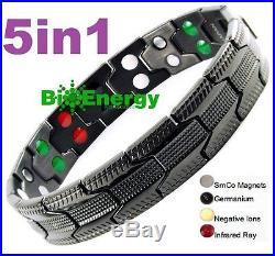 Magnetische Energie Germanium Energien Armband Gesundheit 5in1 Bio Armreif