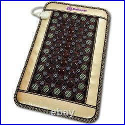 MediCrystal 4-Gems 86 Stones Far InfraRed Heating Bio Magnetic Mini Mat 32x20