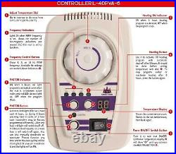 MediCrystal FIR PEMF Photon Far InfraRed Heating Amethyst Agate Mini Mat 20x32