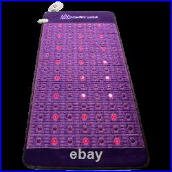 MediCrystal FIR PEMF Photon Heating Mat Amethyst Agate Professional 31x72