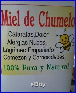 Miel de chumelo chumelito gotas para ojos 1 botella 10 ml hierbas mexicanas