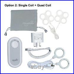 MiraMate Mini Magic Portable PEMF Device With 2 Coil sets Single & Quad
