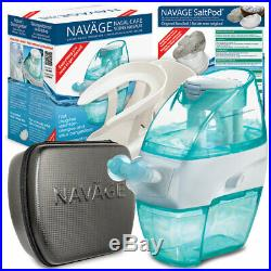 NAVAGE NASAL CARE DELUXE BUNDLE with38 SaltPods, Caddy & Travel Case (Neti Pot)