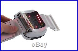 NEW 11 diodes Wrist&Nasal Cold Laser Therapy blood glucose LLLT Physiotherapy