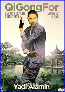 NEW! QiGong For Serious Health Conditions 2.0. 2 DVD SET! Best On The Web