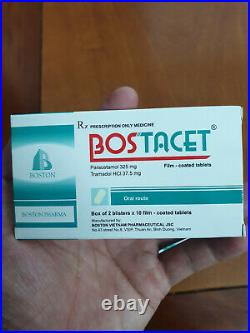 NEW SEAL Bosttacett Pain treatment, 12 Boxes 240 Tablets Exp. 04/23