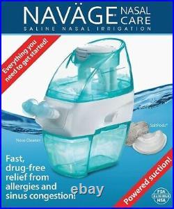 Navage Nasal Care Saline Nose Cleaner Irrigation Sinus Relief SDG-2