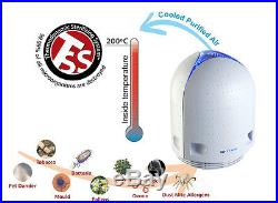 New Airfree P40 Air Purifier Sterilizer Asthma Dust Cleaner Ozone Ion FREE
