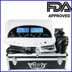 New Dual Ion Detox Ionic Aqua Foot Bath Chi Spa Machine Us