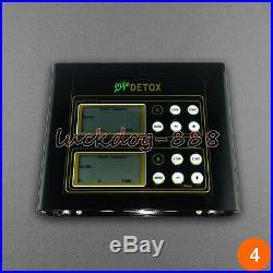 New Dual Ionic Foot Detox Spa Bath LCD Machine & 2 Fir Belts 5 Modes Ion Cleanse