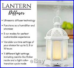 New In Box Young Living Essential Oil Lantern Diffuser with 2x5 ml oils