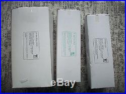 Nikken Countertop Water Filter #1316 Replacement Set Of (3) Filters New Sealed