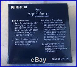 Nikken PiMag AquaPour Mineral Stones Cartridge Filter Microsponge 1386 1361 1362