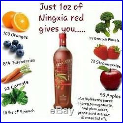 NingXia Red Young Living Essential Oils (4 Bottles & 30 pcs 2oz) NEW FREE Ship