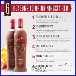NingXia Red Young Living Essential Oils (4 Bottles x 750ml) New Stock & Sealed