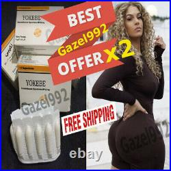 Offer X2 Original Yokebe Suppositories For Big Buttocks And Hips Maxi Volume ++