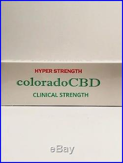 Organic Hemp Colorado CBD 1000 mg Oil Hyper Strength 2oz Pain Stress Relief USA