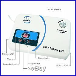Ozone Generator Water Purifier Ozonizer Air Dryer Air Pump Timer Redox 110V/220V