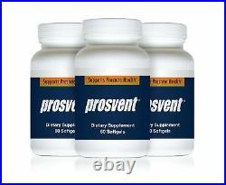 PROSVENT Natural Prostate Health Supplement 3 Bottles