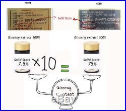 Pocheon Korean Roter Ginseng 100% Extrakt Royal 240g 6Jahre Festkörper 70% PANAX