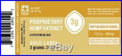 Proprietary Hemp Extract- Gold
