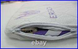 Purple Ereada Heating Far Infrared Bio Magnetic Photon Amethyst Mat Mini 20x32