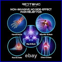RedTonic Red Light Therapy Device for Pain Relief, 630/660/850nm RED & INFRARED