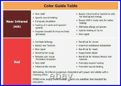 Red Light Therapy Device Half Body Lamp for Skincare/Pain Relief 600W