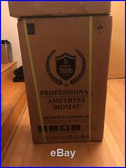 Richway 7000MX Amethyst BioMat Professional with Travel Case NIB