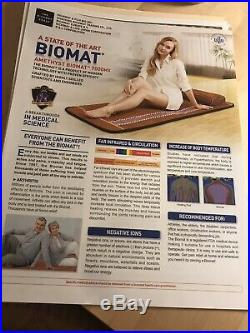 Richway AMETHYST BioMat 7000MX Professional Mat, Controller & Cover 27.56 x 74