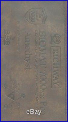 Richway Amethyst BioMat Bio Mat Professional Pro 7000MX 74x28 Clean
