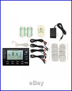 Rimba 4 KANAL Elektro Power box Set mit LCD Display Stimulation Massage