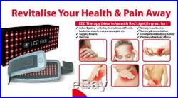 SE LED Belt Near Infrared Red Light Therapy Healing Cosway Express