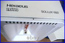 SOLLUX 600 Infrarot Breitstrahler Lampe Hanau Rotlicht Physiotherapie Wärmelampe