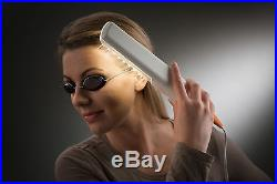 Saalux UV-Kamm UV-B inkl. Schutzbrille und Timer für 311nm UV-Lichttherapie