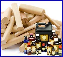 Sandalwood Essential Oil 100% Pure Santalum Album Sizes 1 ml 8 oz