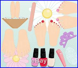 Selbststudium Kosmetische Fußpflege 1 DVD Zertifikate Schulungsunterlagen