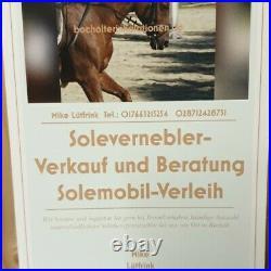 Stallbox bis 80 Kubik Solevernebler Soletherapie Pferde Inhal. #Soletherapie